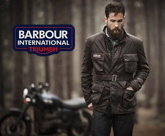 Barbour Triumph range
