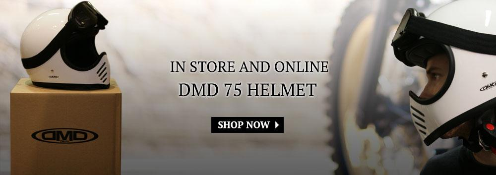 DMD 75 Helmet - Now in store:
