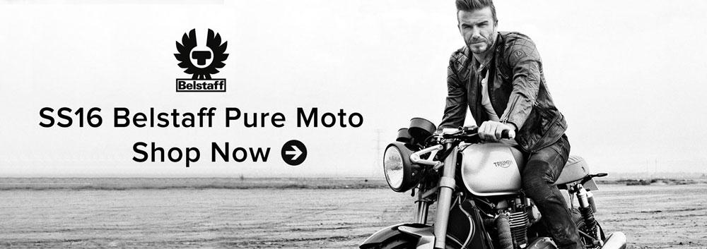 Belstaff 2016 Collection: New belstaff 2016 motorcycle collection pure moto, now in stock at Urban Rider.