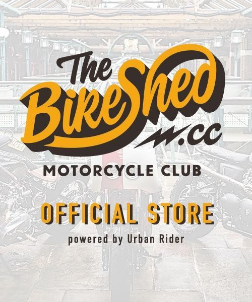 The BikeShed.cc Motorcycle Club Official Store, powered by Urban Rider