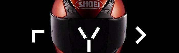 Shoei RYD motorcycle helmet