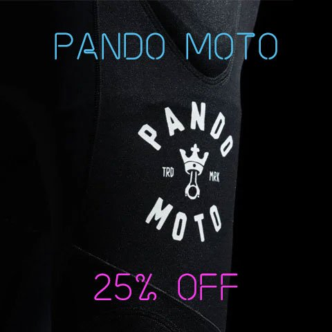 Black Friday Pando Moto