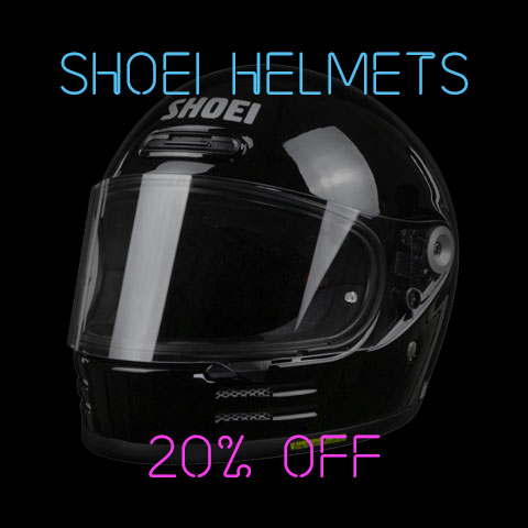 Black Friday Shoei Helmets