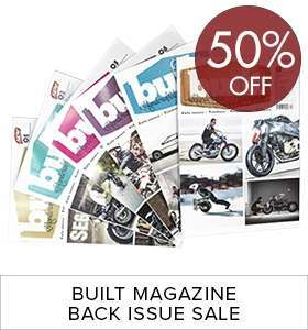 Built back issue sale