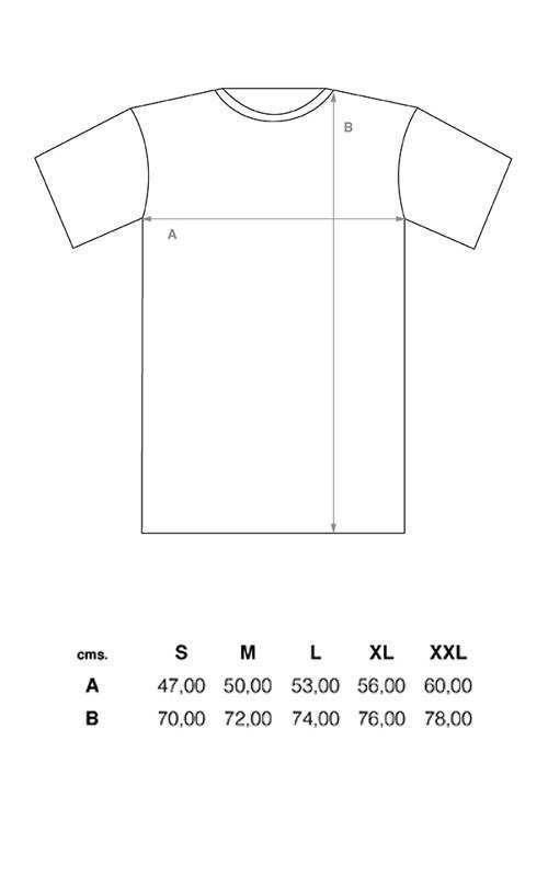 el solitario t shirt sizing