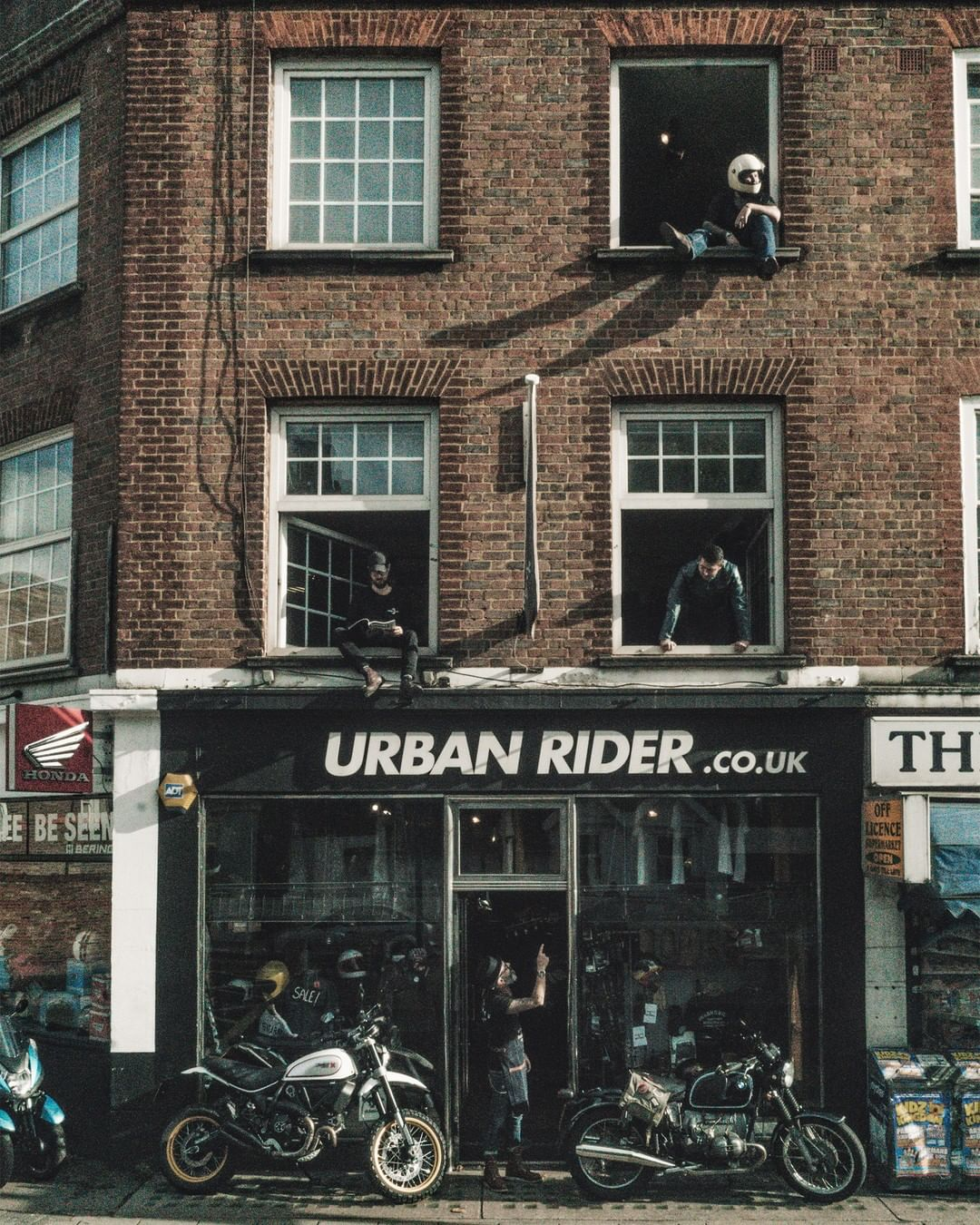 The Urban Rider New Kings Road shop